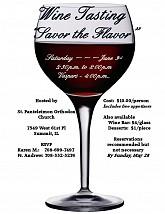 Wine Tasting - Saturday, June 3